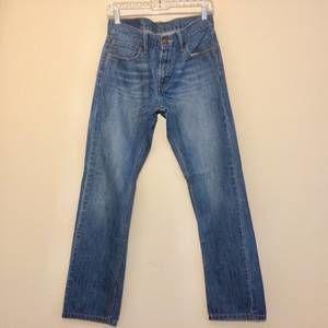 Levi's 514 blue slim straight leg denim jeans